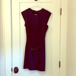 FRENCH CONNECTION Belted shift dress
